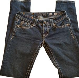 || MISS ME || Size 25 Straight Leg Jeans